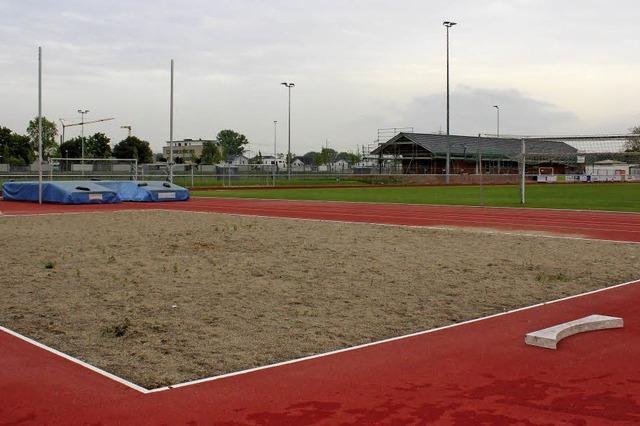 Wurfgrube wäre ideales Beach-Volleyballfeld