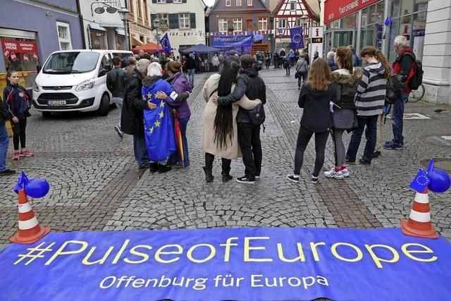 Der Puls Europas schlägt in Offenburg