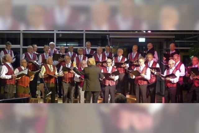 Musikalische Reise durch 50 Jahre Chorgeschichte