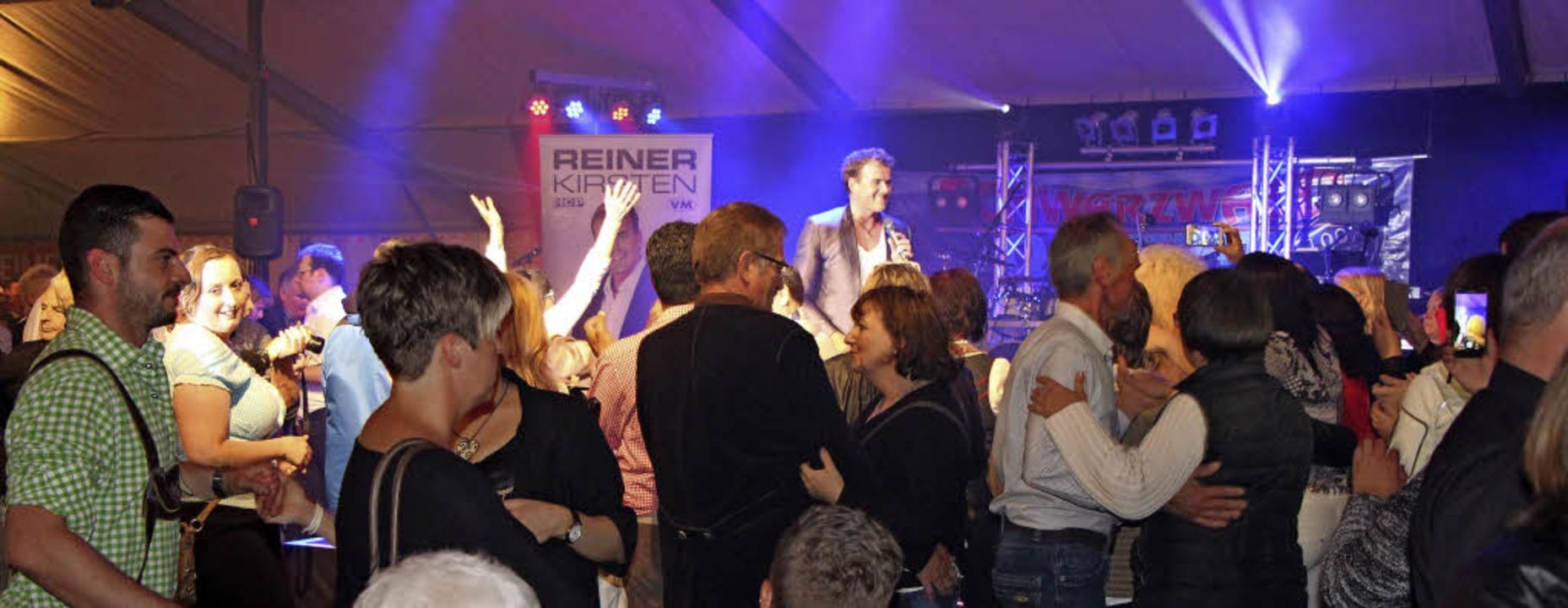 Großer Andrang herrschte beim Riegeler...elt beim Auftritt von Reiner Kirsten.   | Foto: Helmut Hassler