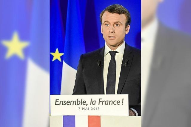 Frankreich entscheidet sich für Macron und Europa