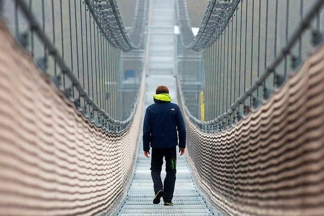 Längste Hängeseilbrücke der Welt im Harz eröffnet