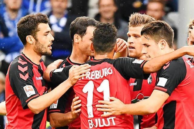 2:0 gegen Schalke: SC Freiburg rückt der Europa League näher