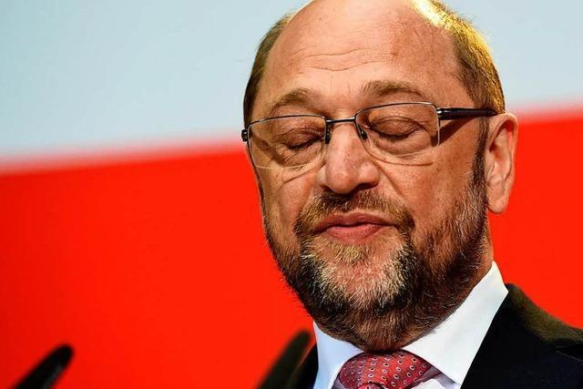 Schleswig-Holstein Wahl: Martin Schulz ist geschockt
