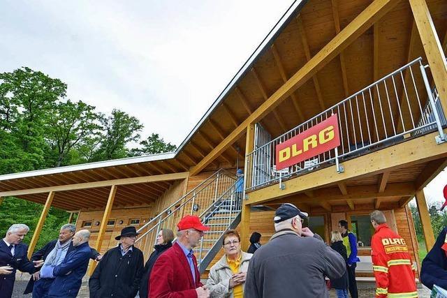 Bald nimmt die DLRG ihre neue Wachstelle am Opfinger See in Betrieb