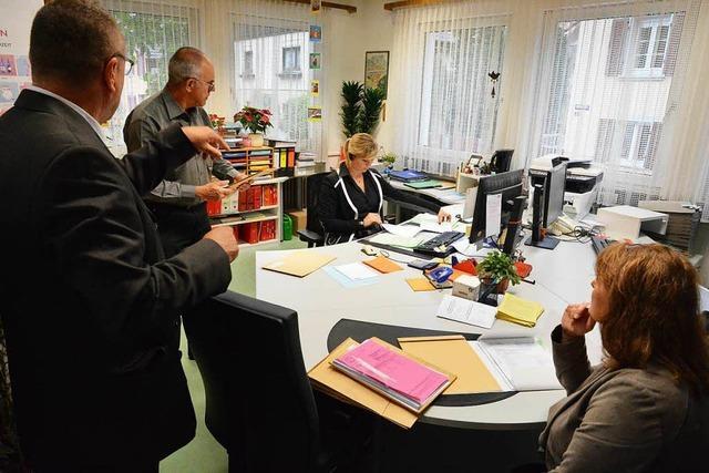 Panne sorgt bei der Bürgermeisterwahl in Teningen für Aufregung