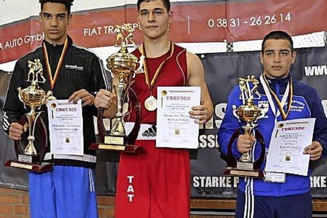 Berkan Sahin aus Riegel ist Deutscher Box-Meister