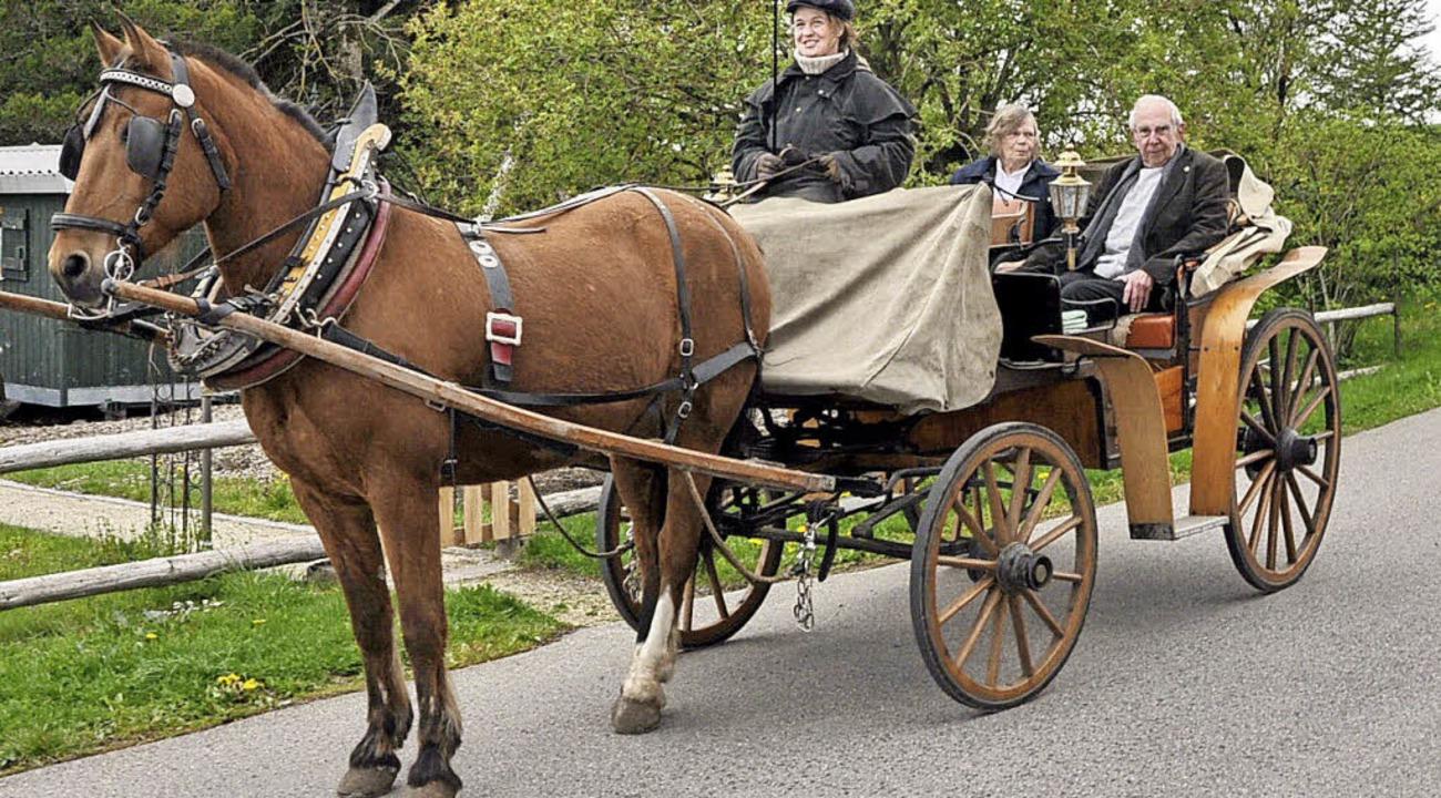 Christa und Hermann Reichert erfüllen ...schfahrt einen 50 Jahre alten Wunsch.     Foto: Stefan Pichler