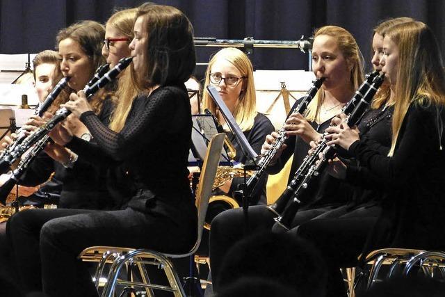 Jugendblasorchester Breisgau zeigt eine große Bandbreite