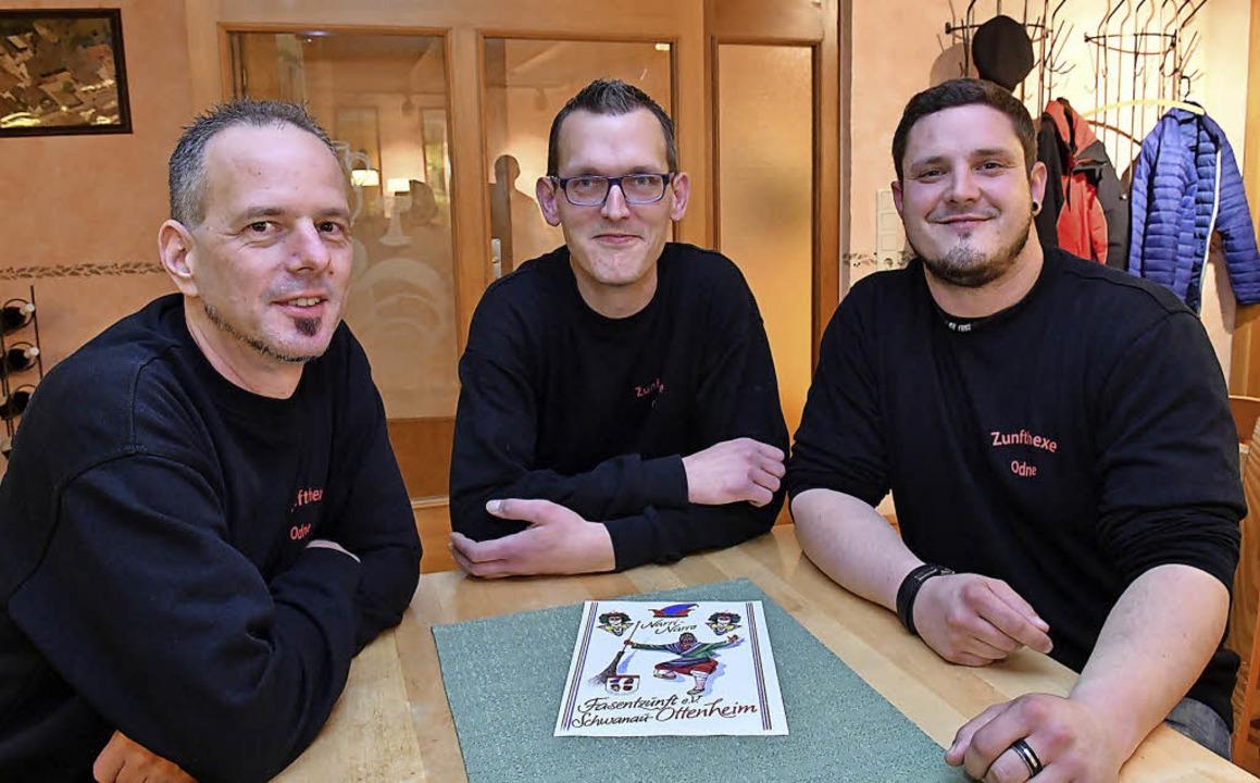 Die neue Zunftspitze bilden Vorsitzend... Antz und Rechner Volker Kaltschmidt.   | Foto: W. Künstle