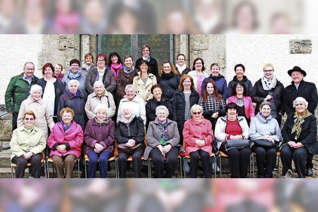 Landfrauen Göschweiler feiern ihr 40-jähriges Bestehen