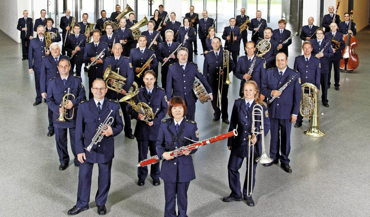 Das Bundespolizeiorchester spielt am 19. Mai in der Bräunlinger Stadthalle.     Foto: Bundespolizeiorchester