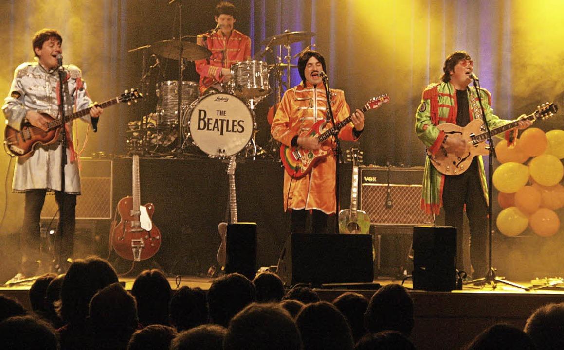 Die Silver Beatles im Bad Krozinger Kurhaus    Foto: Ute Wehrle