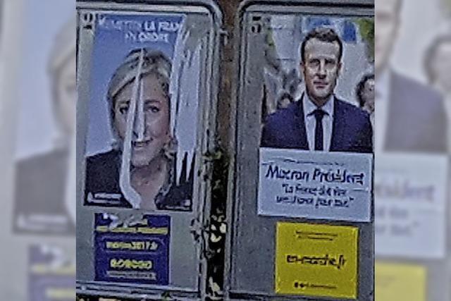 Hüningen klar für Europa – 67,6 Prozent für Macron