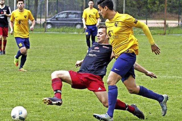 Derbysieg für den SC Tiengen