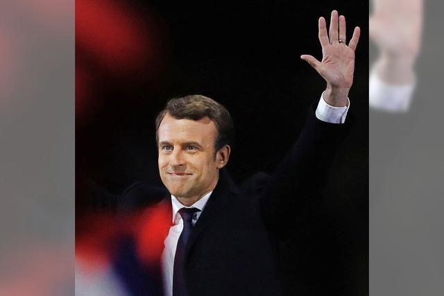 Macron setzt sich in den Partnergemeinden durch
