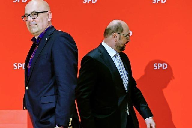 Schulz soll mit Schlappe in Schleswig-Holstein nichts zu tun haben