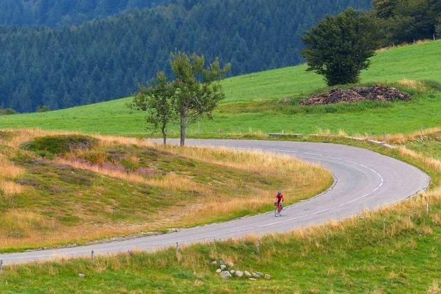 Tour-de-France-Flair: Auf den Grand Ballon von Badenweiler