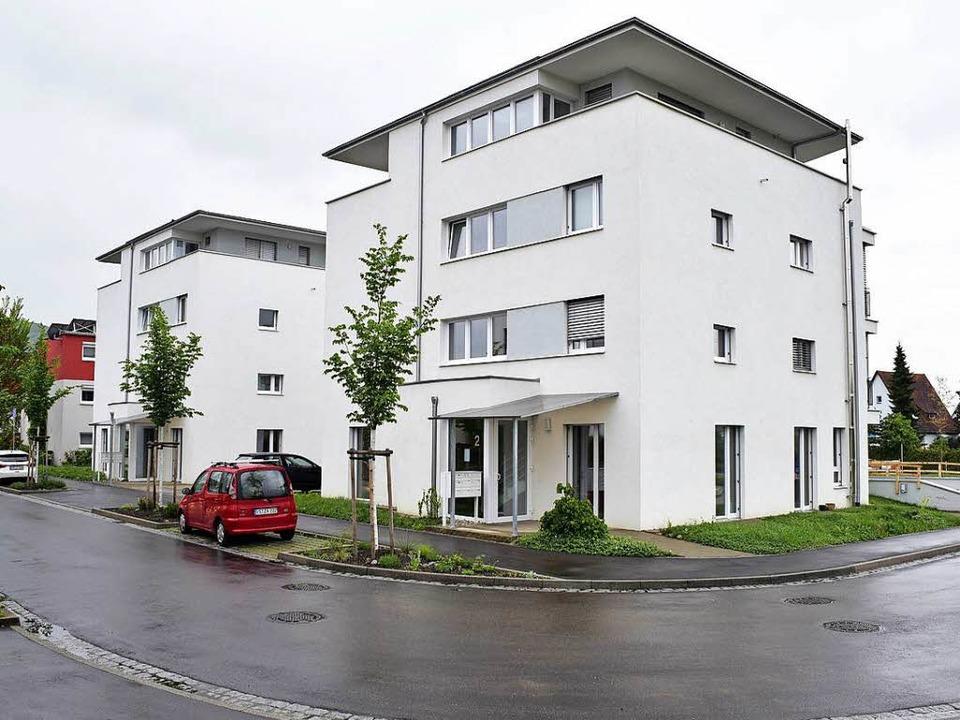 """Die beiden Häuser des Projekts """"...t. Georgen sind mittlerweile bezogen.     Foto: Thomas Kunz"""