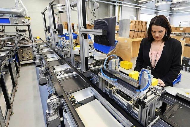 Sauter eröffnet Produktionshalle in Freiburg – auf Kosten von Basel
