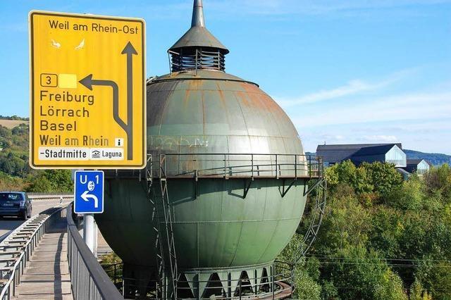 Schildbürgerstreich um Weiler Wasserturm