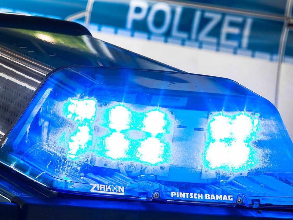 Die beiden Fahrer stehen fest, die gen...sind aber noch unklar, so die Polizei.  | Foto: dpa