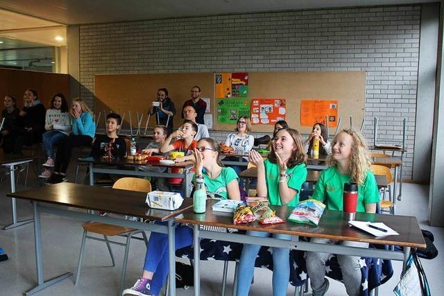 Schopfheimer Schüler fiebern bei eigenem Quiz-Sieg mit