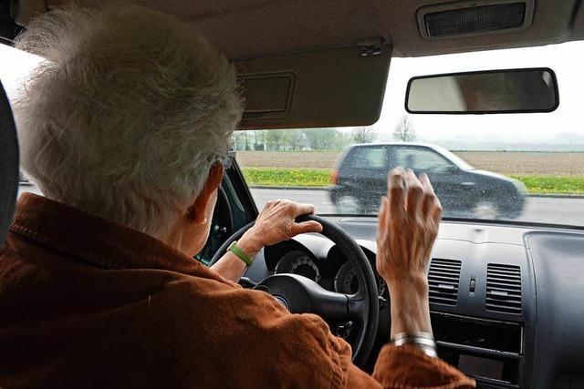 Seniorin verwechselt Gas mit Bremse