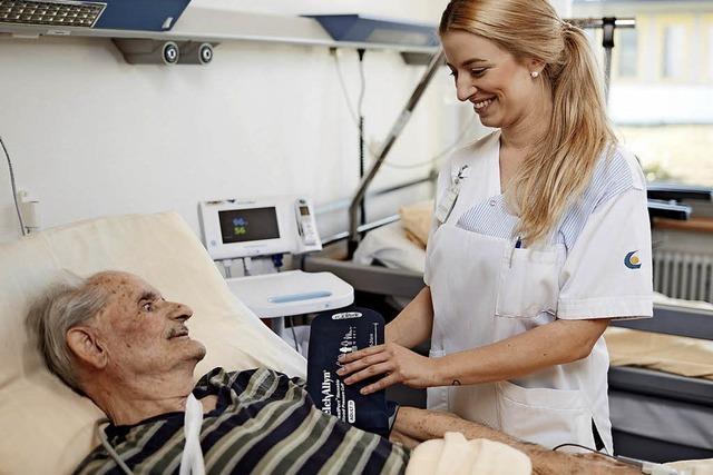 Tag der internationalen Krankenpflege am Kreiskrankenhaus Lörrach