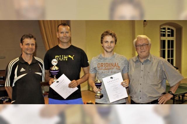 Meistertitel für Gunter Schmid und Sven Pflieger