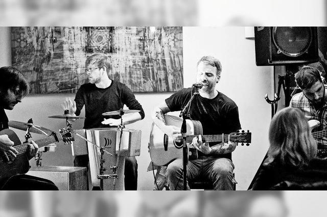 Akustik-Pop-Konzert im Café Verkehrt in Murg-Oberhof