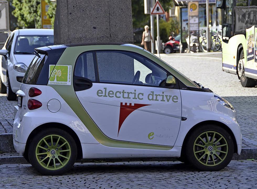 50 E-Mobile sind in Offenburg gemeldet...waltung und der Technischen Betriebe.   | Foto: Seller