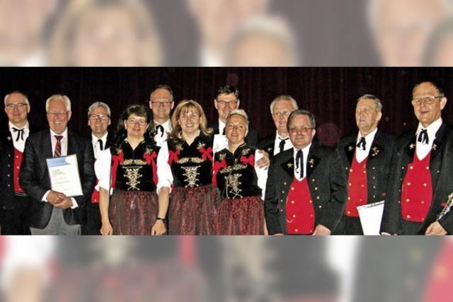 Ehrendirigent und Ehrenmitglieder