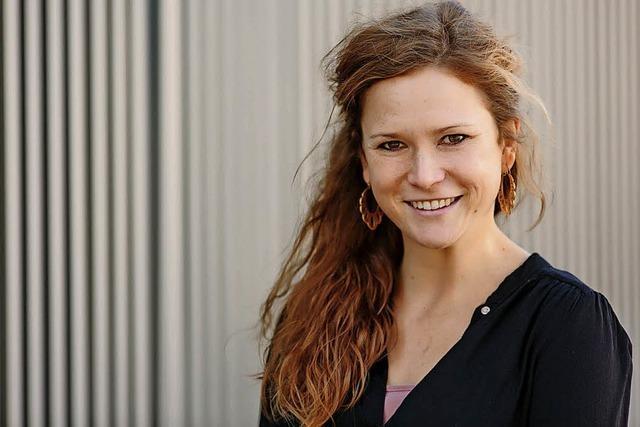 Die Studentin Julia Rensing war auf den Spuren des Kolonialismus in Namibia
