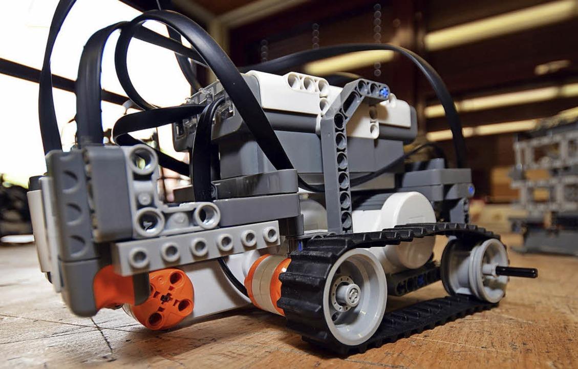 Das Lego-Roboter-Bauen ist bei Kindern beliebt.    | Foto: textdirekt