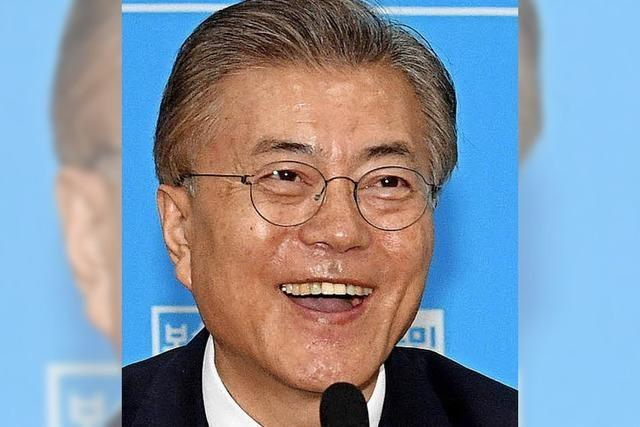 Südkoreas neuer Präsident Moon: Volksnah und kompromissbereit