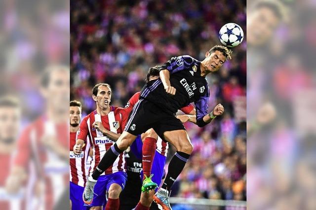 Atlético scheitert nach großem Kampf