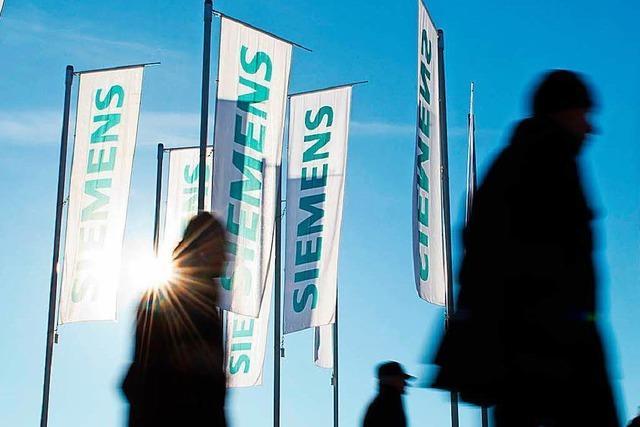 Siemens plant wieder Einschnitte - 2700 Jobs betroffen