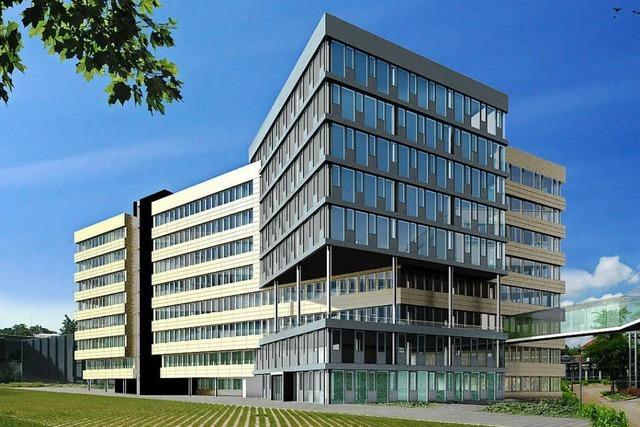 Medienunternehmen Haufe in Freiburg platzt aus allen Nähten