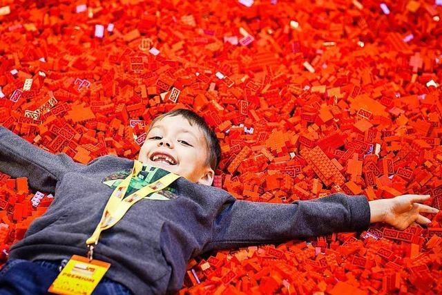 Eine Welt aus Steinen: Legomesse Bricklive öffnet in Basel