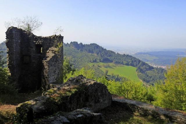 Ausflug zur Ruine Schwarzenburg