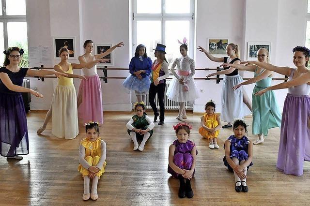 Aufführung in der Stadthalle der Ballettschule Kmitta