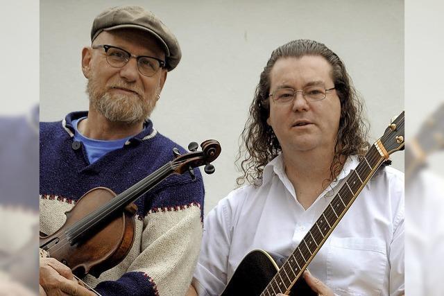 Duo Handel Misses The Pint gibt Konzert im Amboss in Todtmoos-Au