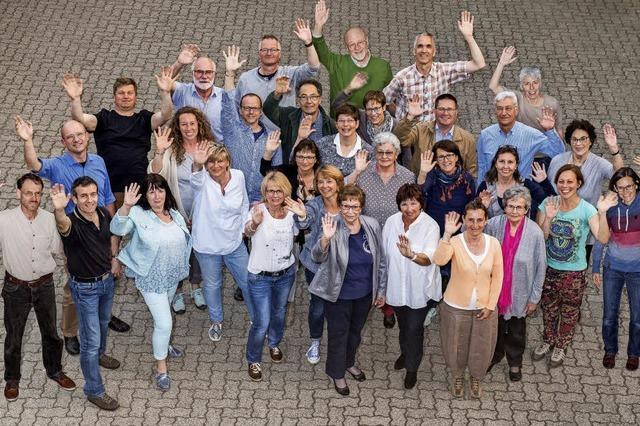 Gastspiel des Gesangsverein in Niederweiler