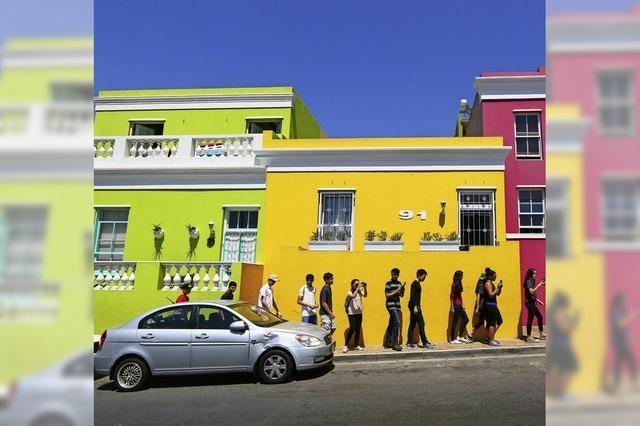 FLUCHTPUNKT: Farbe tanken in Kapstadt