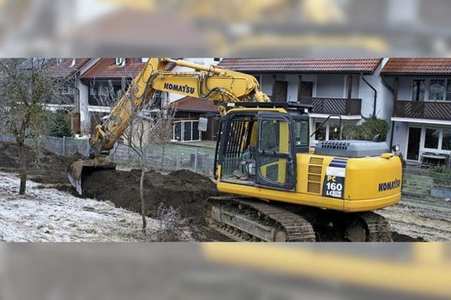 Stadt gräbt Erdstreit nochmals aus