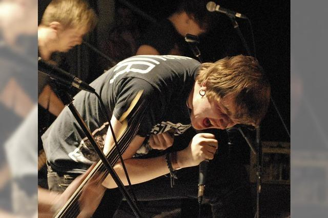 Sieben Bands rocken in Murg die