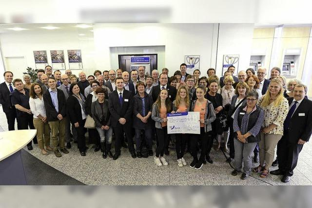 BBBank spendet 106.000 Euro an Schulen, Vereine und soziale Einrichtungen