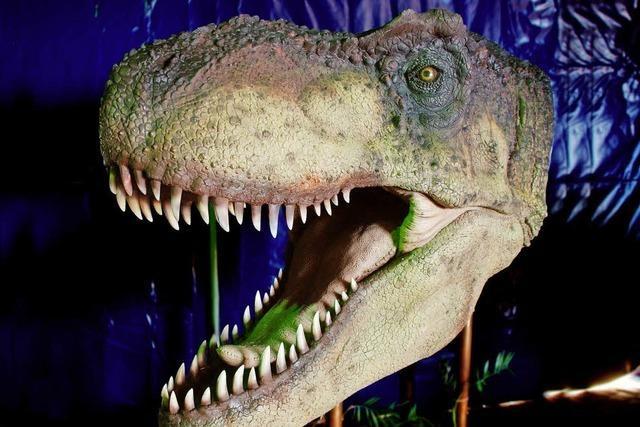 Modelle von rund 50 Dinos