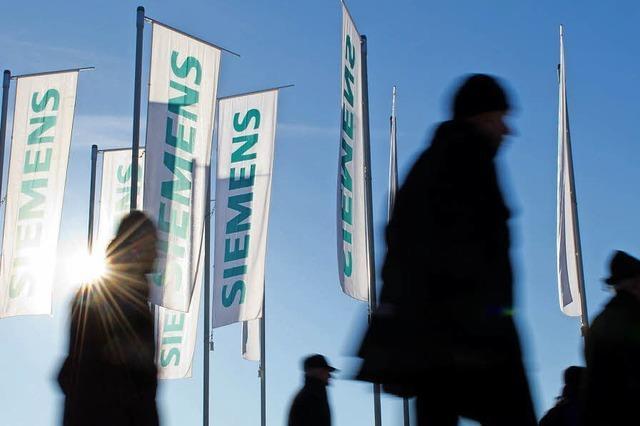 Siemens spart und schrumpft